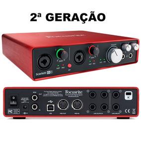 Interface De Áudio Focusrite Scarlett 6i6 2nd Geração
