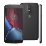Motorola Moto G4 Plus Preto Xt1640 32gb Nacional Vitrine