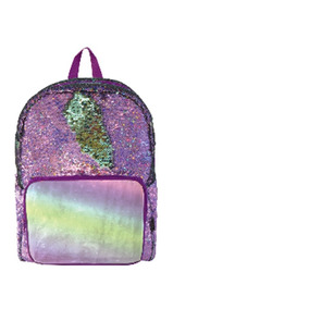 Mochila Tipo Backpack De Lentejuela Reversible