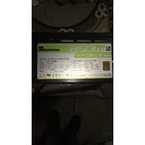 Fonte Seven Gamer Modular 850w Reais St-850z-af 80plus Ok