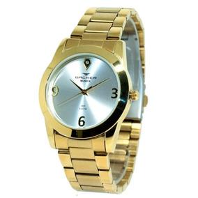 08fdda62285 Relogio Backer Dourado - Relógio Backer no Mercado Livre Brasil