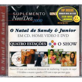 Cd Sandy E Junior Suplemento Promocional - Raro Novo Lacrado