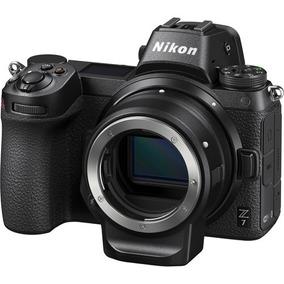 Camera Nikon Z7 Corpo + Adaptador Ftz Mount - C/ Recibo