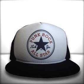 Boné Punk Rock All Star Aba Reta 65469144b02