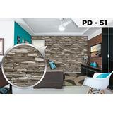Adesivo Papel De Parede Tijolo Pedras Filete Lajota 3d
