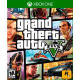 Xbox One G T A V Nuevo Sellado Tienda Grand Theft Auto 5