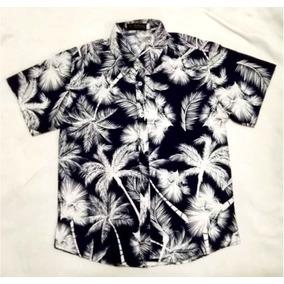 Camisa Manga Curta Havaiana 2018 Verão Masculina Floral Fest