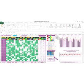 Planilha Lotofacil De Analize E Estatistica + Brinde