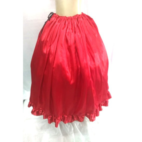 Saia De Pomba Gira Vermelha,orixa,roupa De Santo