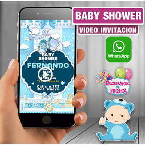 Vídeo Invitación Digital / Infantil / Baby Shower