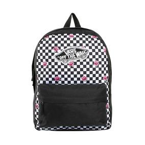 Mochila Original Bonita Vans Backpack Color Textil Zh855 A f8cbaa2f4ba