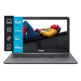Notebook 15.6 Asus X540ma Celeron N4000 4gb 500gb