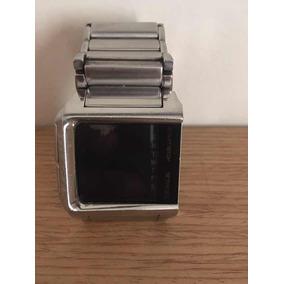 3b0ff9a61fe Relógio Diesel Quadrado Original - Relógios De Pulso no Mercado ...