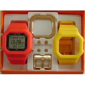 a0144084072 Relogio Champion Yot Quadrado - Joias e Relógios no Mercado Livre Brasil