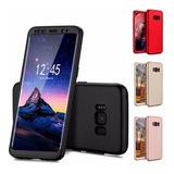 Capa Case 360 Samsung Galaxy S8 E S9 Plus - Película Gel