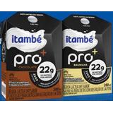 24un Itambé Pro Bebida Láctea 22 Gramas Proteína Sem Lactose