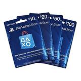 Tarjeta Psn Card 10 Dolares - Juegos Dlc Ps4 Ps3 Usa Usd