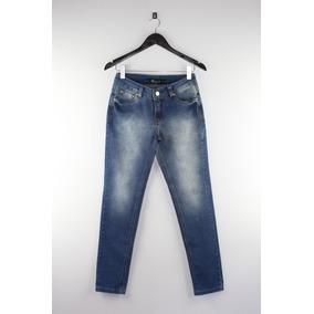 Calça Jeans Feminina Skinny Básica Revanche Lycra Top 546bb9e6e7b7e