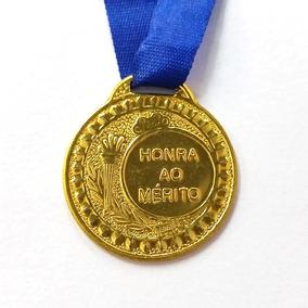 Lote De 12 Medalhas Honra Ao Mérito 3 Cm
