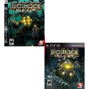 Bioshock + Bioshock 2 Pode Jogar Em Inglês Ou Espanhol - Ps3