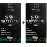 Kit 02 Unidades De Whey 5w Pro Effect 2kg + Bcaa 2400mg 60