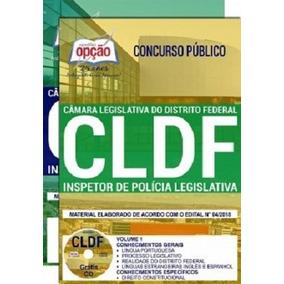 Apostila Concurso Cldf 2018 Inspetor De Polícia Legislativa