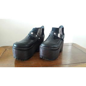 Zapatos De Mujer De Invierno Con Plataforma De Madera - Ropa y ... 160804ce16b