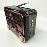 Radio Antiguo Fino Buen Sonido Fm Am 15 Cm