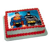 Papel De Arroz Batman E Super Homem No Mercado Livre Brasil
