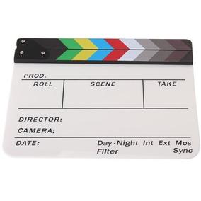 Claquete Profissional Cinema Com Imã - Frete Grátis 12x S/j