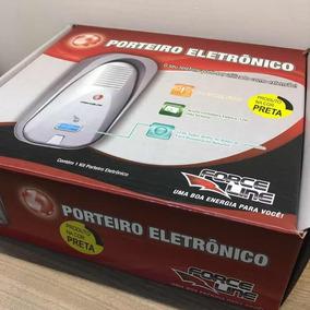 Porteiro Eletrônico Force Line 5407 Preto
