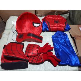 Disfraz Spider Man Hombre Araña Niño Infantil Rojo Marvel