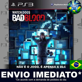 Watch Dogs Bad Blood Ps3 Mídia Digital Psn Apenas Dlc