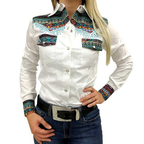 Camisete Miss Country Branco navajo 343 b9f934b9946