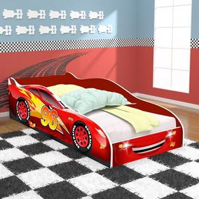 Cama Carros 96 Infantil Vermelho /vermelho - 11218