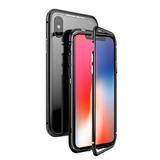 Funda Bumper Aluminio Magnetica Iphone 7 8 Plus X Xs Max