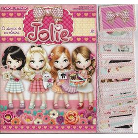 2015 Álbum Jolie Alegria De Ser Menina Vazio + 50 Figurinhas