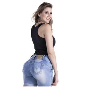 Shorts Zigma Meia Coxa Levanta Bumbum