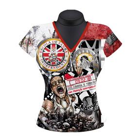 Camiseta Evolução Humana Samba - Grife Samba E Sede. Bahia · Baby Look  Feminina Independente Carnaval 2018 c041f23760665