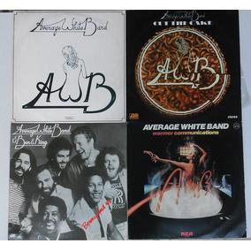 Lote 4 Discos Vinil Average White Band Raros