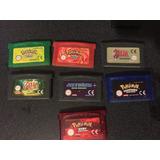 Pokemon , Rojo Juego , Verde Hoja ,zelda , Español - Re-pr0