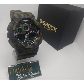 Relogio Masculino Casio G Shock Esportivo Militar Camuflado