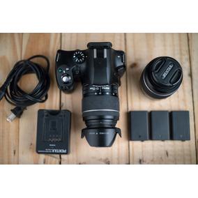 Dslr Pentax K-50 Camara Digital Con Lentes