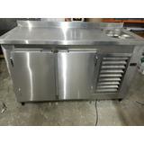 Balcão Industrial Em Aço Inox Refrigerado