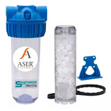 Filtro Agua Anti Sarro Sal Polifosfato Transparente Aser