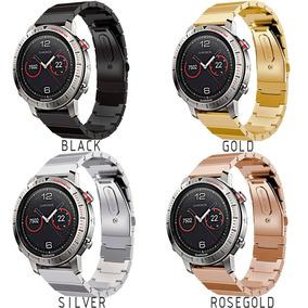 739fc750b21 Correa Eslabones Premium De Lujo Para Garmin Fenix Chronos