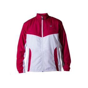 Casaca Masculina Wilson - Jaqueta Core M Rojo/blanco - Tenis