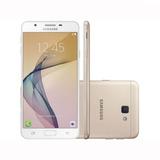 Smartphone Samsung Galaxy J7 Prime Dourado 32gb Dual Chip O