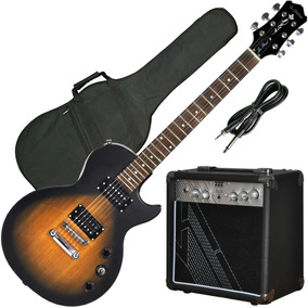 Guitarra Electrica Les Paul Tipo Epiphone Special + Ampli