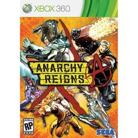 Anarchy Reigns Xbox 360 Jogo Original Lacrado Mídia Física